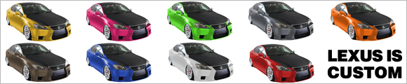 LEXUS IS custom bunnar