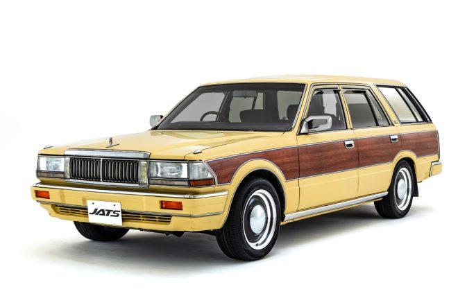 Y30 グロリアワゴン セドリックワゴン バン 木目ステッカー